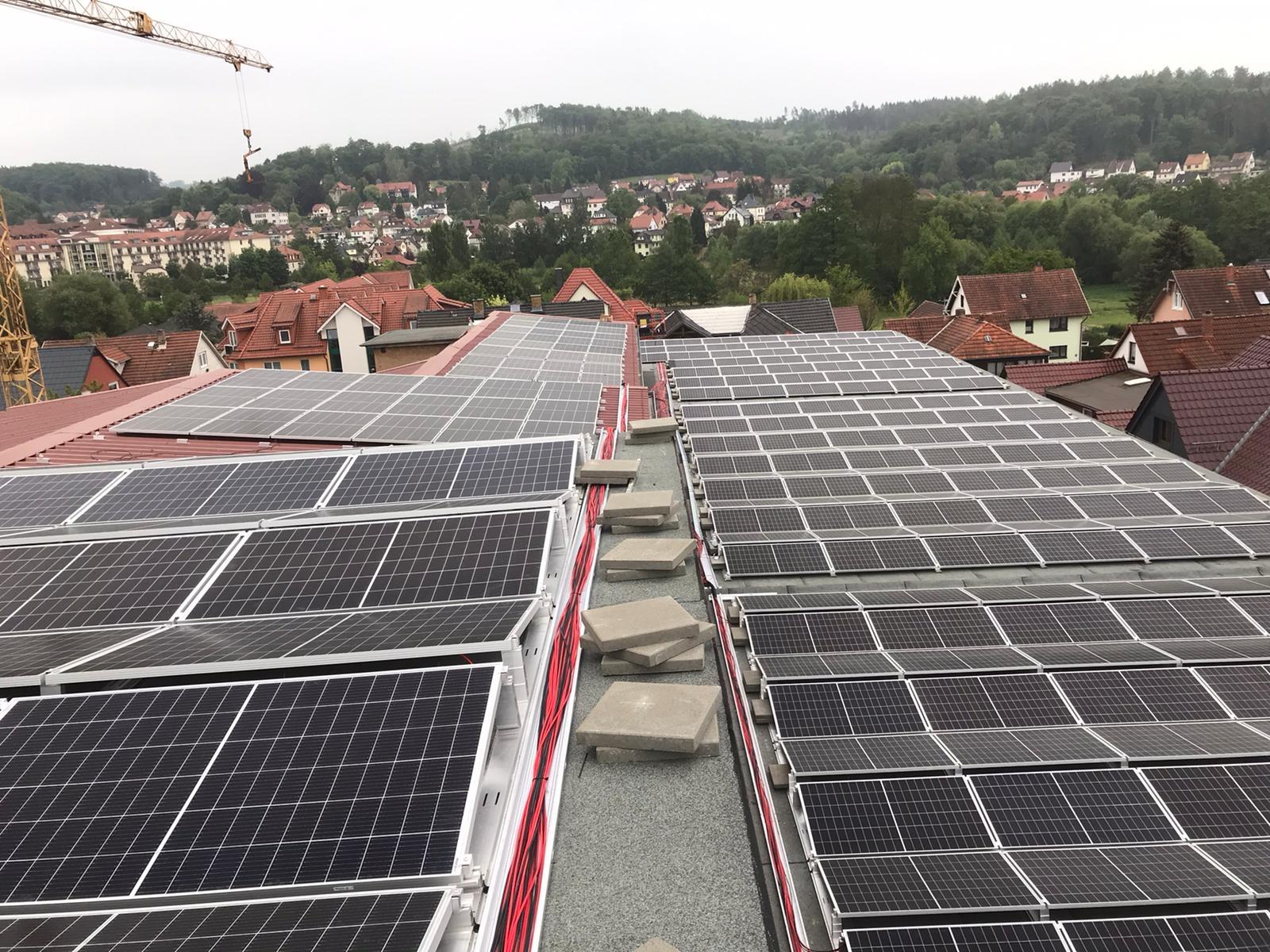 Dachvermietung, Dachsanierung Bad Liebenstein 6