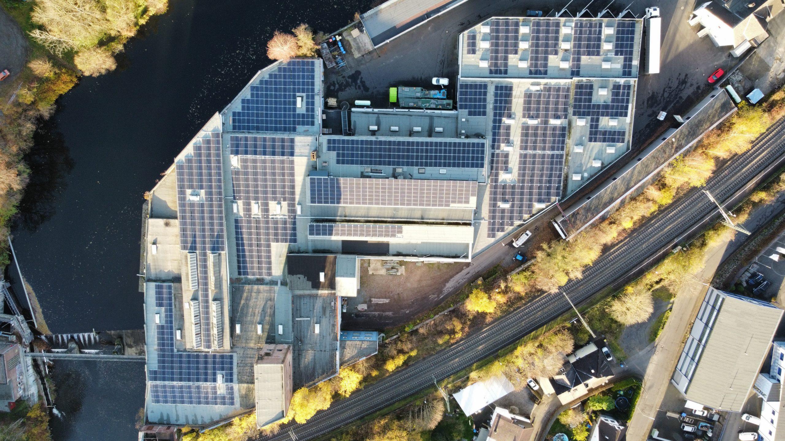 Dachflächenvermietung Scheuerfeld